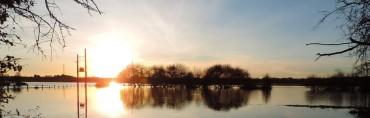 A beautiful sunset in my hometown, Christchurch.