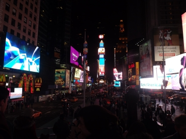 One of the only decent photos I took from my trip to New York in 2013!