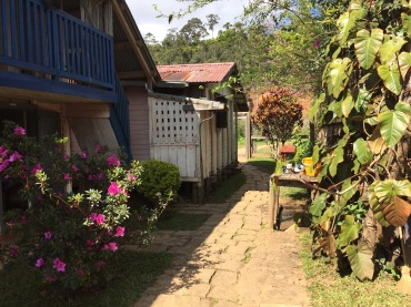 The little village I stayed in during my time in Andasibe, Madagascar.