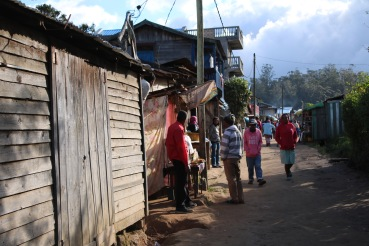 The shops in Madagascar.