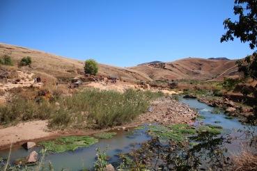 Beautiful scenery in Madagascar.
